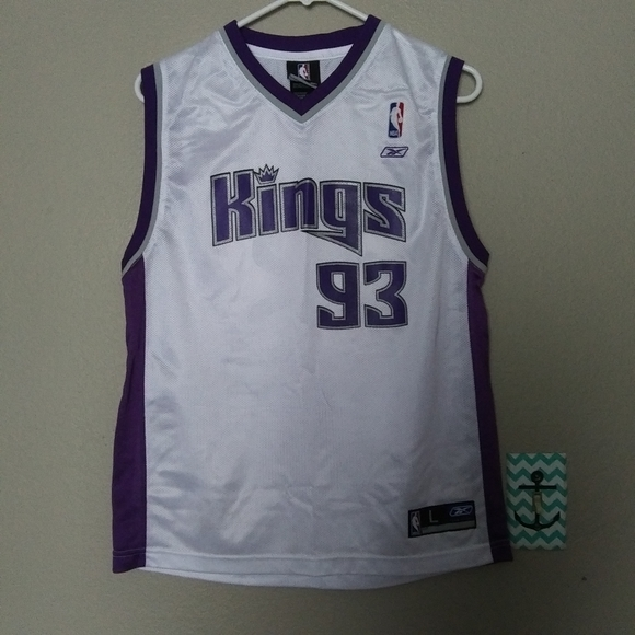NWOT Kings Jersey, Boys Large 14-16, White